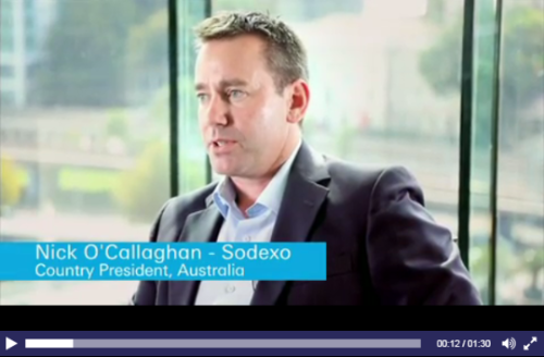 Sky News Interviewed Nick O'Callaghan, Country President Sodexo Australia