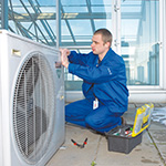 air conditioning maintenance employee